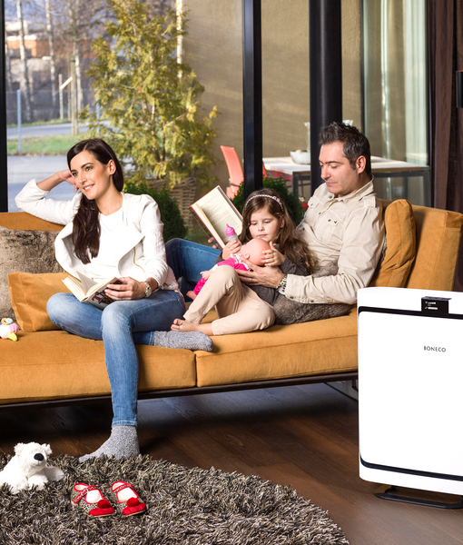 P500 Air Purifier BONECO Living Room