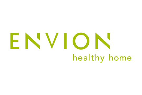 Envion Logo with Claim Green
