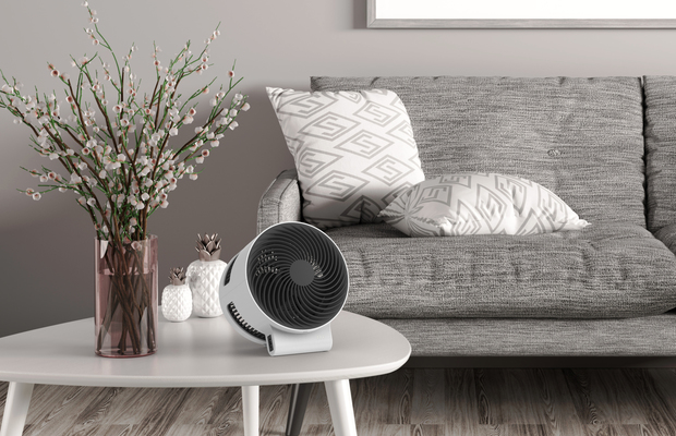 F100 Air Shower Ventilator BONECO Wohnzimmer