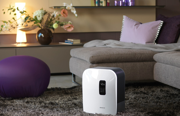 W490 Humidifier Air Washer BONECO living room