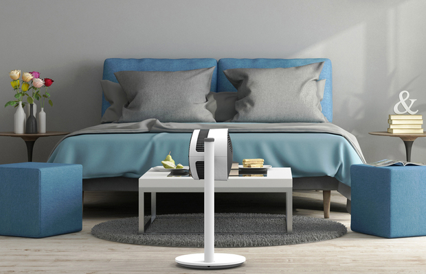 F120 Air Shower Ventilator BONECO Schlafzimmer