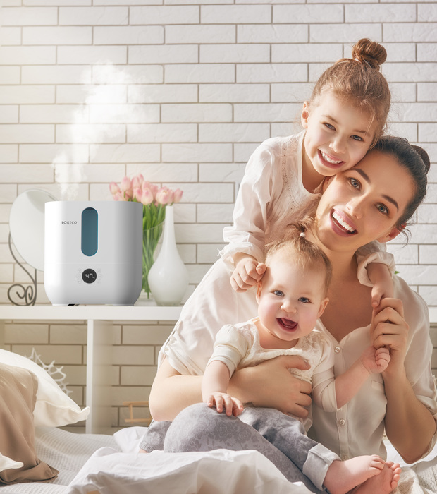 U350 Ultrasonic Humidifier BONECO Family